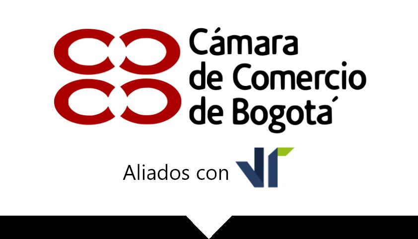 Logo Cámara de comercio de Bogotá y VTsas